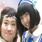 顔の大きさが2倍?武田玲奈とキンタローコスプレ姿で登場!ゲーム「誰ガ為のアルケミスト」