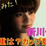 新川優愛さんの体重は?カップ数は?
