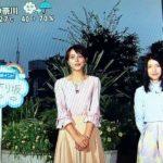 【ZIP】川島海荷と長沢裕の初共演お天気シーン!DOKUDAN初コメント