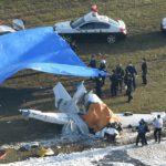 八尾空港に小型機が墜落。4人死亡