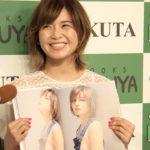 AAA宇野実彩子、最新写真集のお気に入りは「裸オーバーオール」 ソロ写真集「Bloomin'」発売記念イベント1 #Misako Uno #AAA