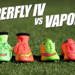 Nike Mercurial Superfly IV vs Vapor X comparison