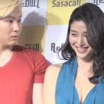 橋本マナミ、会見中に妄想&誘惑?「触れるぐらいが好き」「ササコール」PRイベント 会見1 #Manami Hashimoto #Press conference