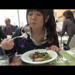 竹達彩奈 イタリアランチを食す