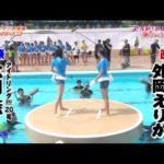 アイドリング!!! 大川藍 vs 外岡えりか 大相撲大磯ロングビーチ場所