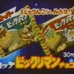 1984年CM 森尾由美 ロッテビックリマンチョコ まじゃりんこシール入り