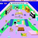 Game of the day 23 Teddy boy blues (テディボーイ・ブルース / 石野陽子) 1985 SEGA no die lev. 50