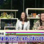 5時に夢中! 2011.02.28月曜 若林史江に胸を触診されてしまう内藤聡子