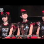 YUIMETAL was lost in meditation at an interview [BABYMETAL]