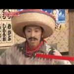北川景子 かぶりモノのせいで入り口に激突!! 回転SUSHI