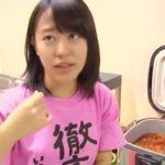 飯窪春菜、小田さくらを躾ける優しいお姉さん。