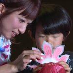 辻希美、着物姿で登場 「ぼんぼん金魚作り」を体験 「お江戸の金魚ワンダーランド」オープニングイベント1 #Nozomi Tsuji #event